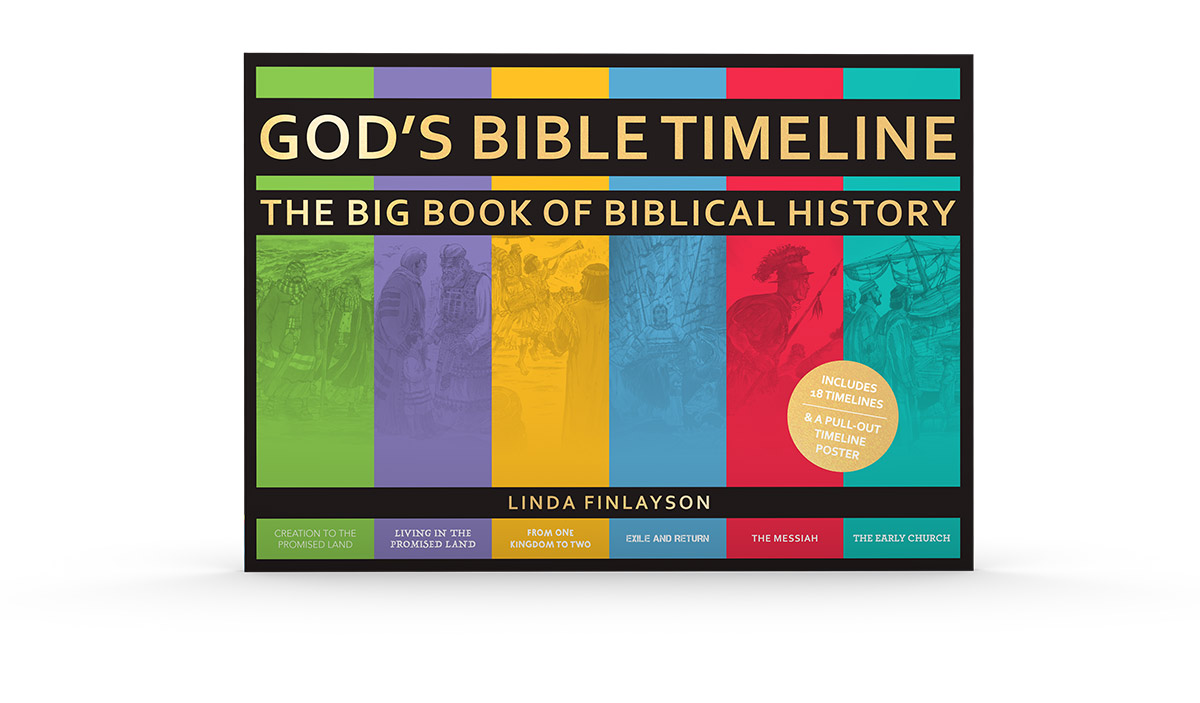 God's Bible Timeline: The Big Book of Biblical History