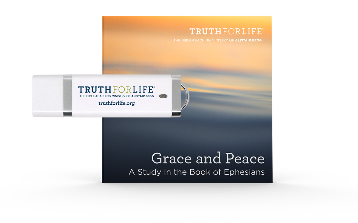 Grace and Peace, a Study in the Book of Ephesians (USB)