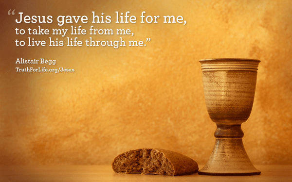 Jesus gave his life for me...