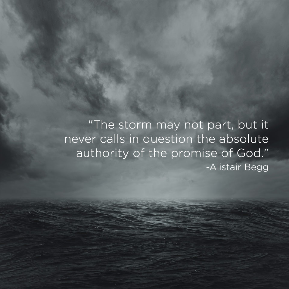 the storm may not part truth for life