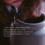 By His Workmanship