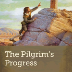 "Pilgrim in the Swamp of Despond - Excerpt from ""The Pilgrim's Progress"""