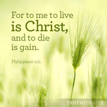 Wallpaper download devotional - For To Me To Live Is Christ Truth For Life