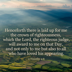 All who have loved His appearing