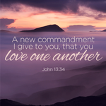 A new command to love one another